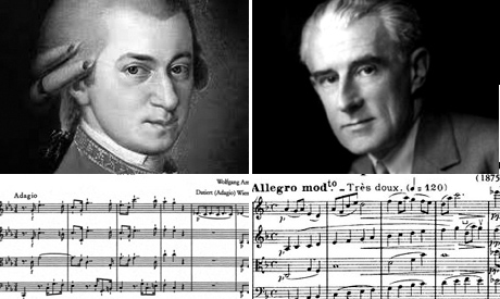 Mozart and Ravel