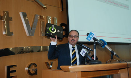 Telecommunication and information technology minister Yasser El-Kady (Al-Ahram)