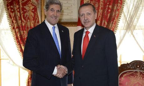 Kerry, Erdogan