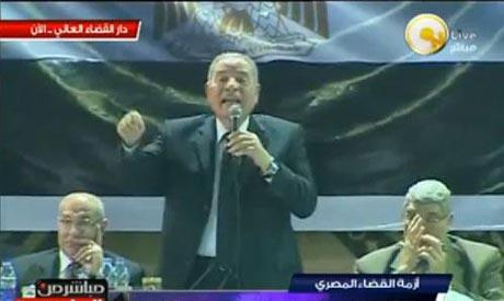 Veteran judge Ahmed El-Zend