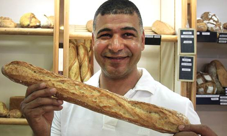 Winner of best baguette competition