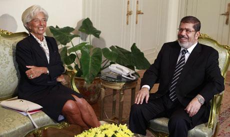 Morsi and Lagarde