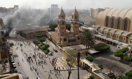 Cairo cathedral clashes leave 21