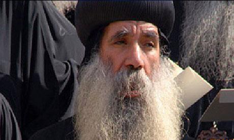 The Coptic Orthodox bishop of Qena, Kyrillos