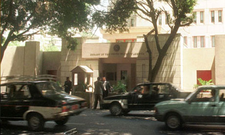US. embassy in cairo