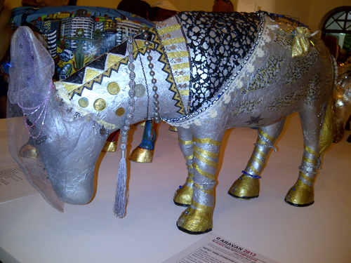 Donkey by French artist Anne-Francoise Giraud. (Photo: Sara Elkamel)