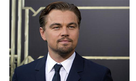 """Leonardo DiCaprio attends the """"The Great Gatsby"""" world premiere in New York. (Photo: Reuters)"""