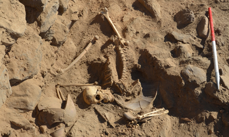 the newly discovered skeleton