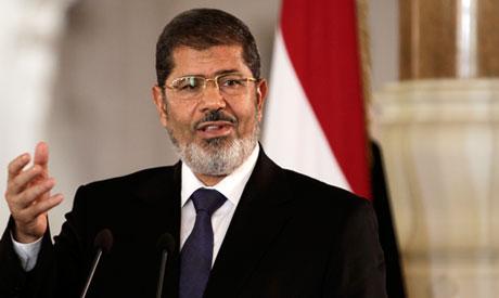 Egyptian President Mohammed Morsi