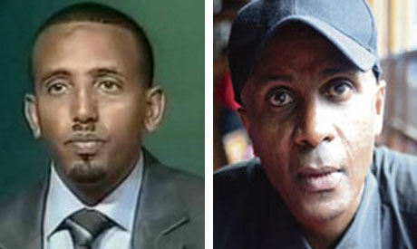 Eskinder Nega and opposition leader Andualem Arage