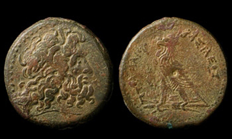 Archive photo of a Graeco-Roman coins