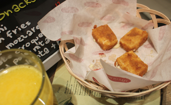 Fried mozarella