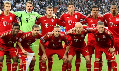 Bayern Munich squad penpix for Champions League final ...