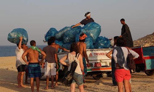 Clean-up of El-Naizak