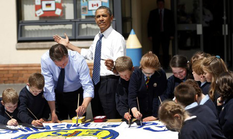 Obama, Cameron