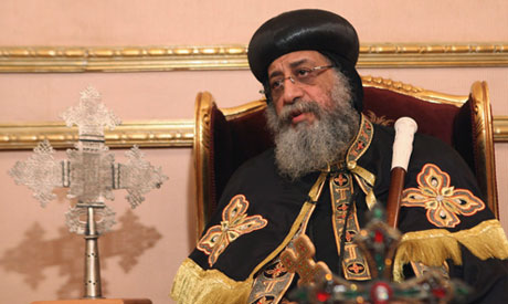Coptic Pope Tawadros II, head of Coptic Orthodox church