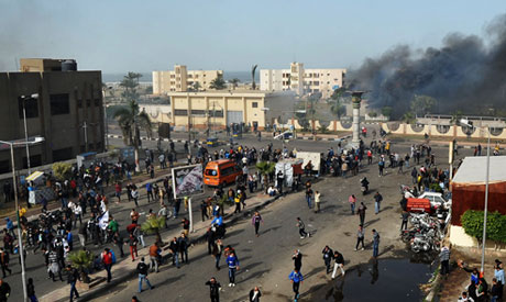 Port Said clashes in March 2013