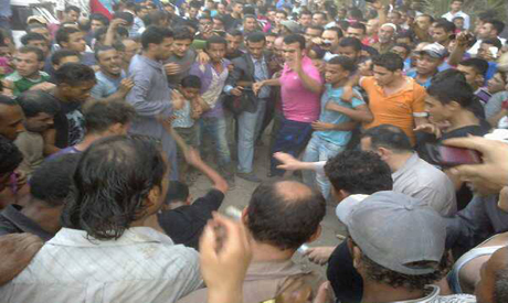 Angry Mob Beating A Shiite