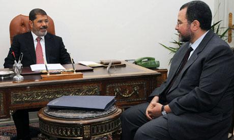 Morsi and Qndil