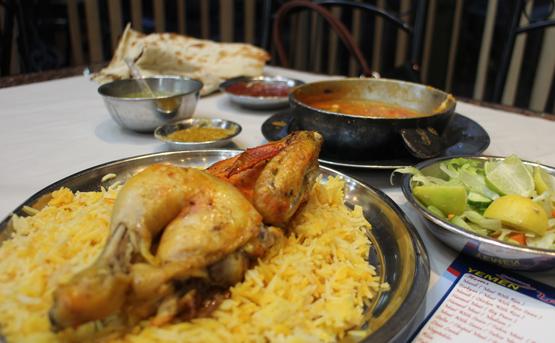 The Yemeni Restaurant, food