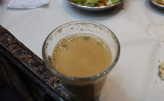 The Yemeni Restaurant, tea