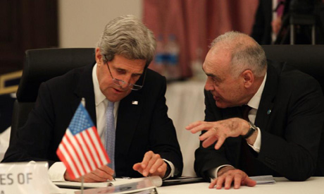 Kerry and Amr
