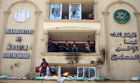 Brotherhood HQ stormed, its leaders condemn