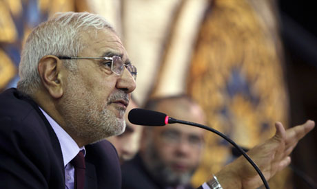 Strong Egypt Party leader Abdel-Moneim Abul-Fotouh