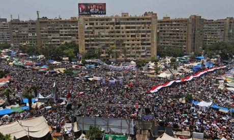 Pro-Morsi rally