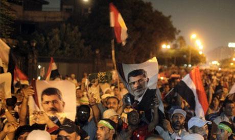 morsi rally