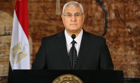 President Egypt 2013 Egyptian Presidency Egypt's
