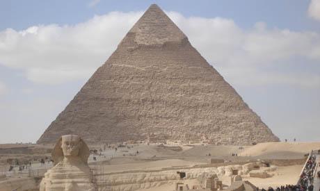 Giza plateau (archive)