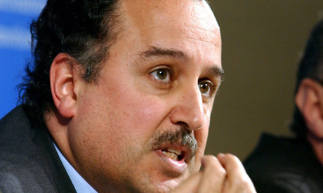 Minister of foreign affairs Nabil Fahmy