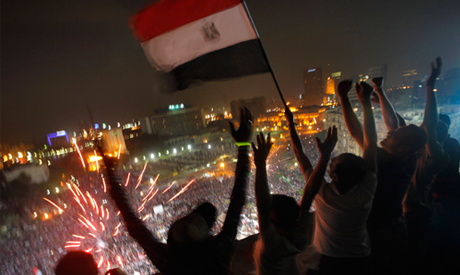 Egypt bourse soars, breaks records after Morsi ouster