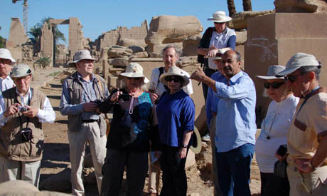 breik with foreign archaeologists