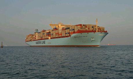 maersk mckinney møller ship