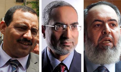 Mohamed El-Omda, Hazem Salah and Hemy Al-Gazar