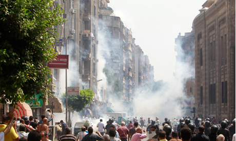 Police fire teargas at pro-Morsi