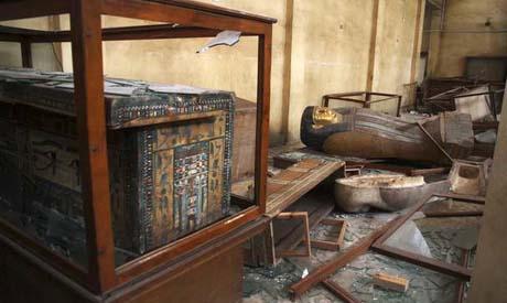 broken sarcophagus (AP)