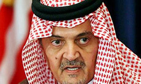 Saudi FM Prince Saud Al-Faisal