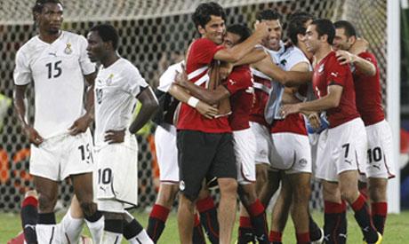 Egypt and Ghana