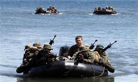 Philippines, US Begin War Games in South China Sea