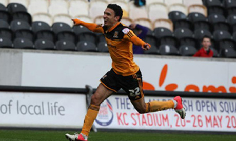 Hull City coach relieved over Gedo's imminent return to action