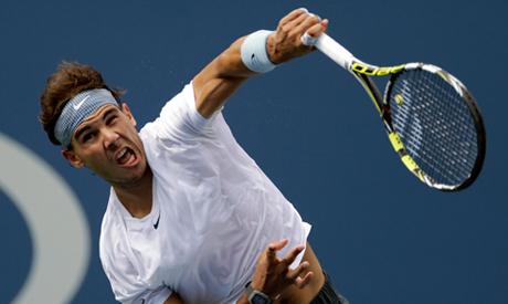 Rafael Nadal, of Spain,