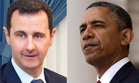 Assad and Obama