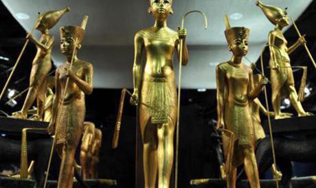 Pieces from the Pharaonic era were found in an Israili online auction hall. (Al Arabiya)