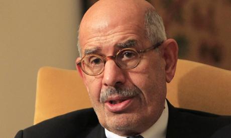 Former vice president Mohamed ElBaradei