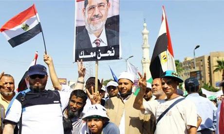 Pro-Morsi protesters