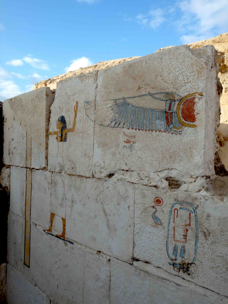 The tomb of abydos dynasty king found gallery ancient for Ancient egyptian tomb decoration