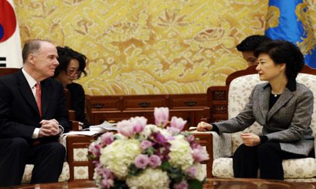 Thomas E. Donilon,Park Geun-hye